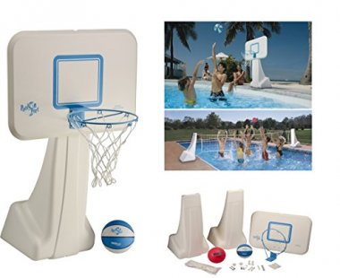 Basketball and Volleyball hoop