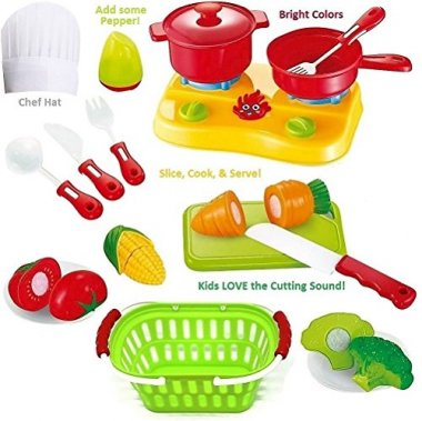 FUNERICA Cutting Play Fruit Toys Set