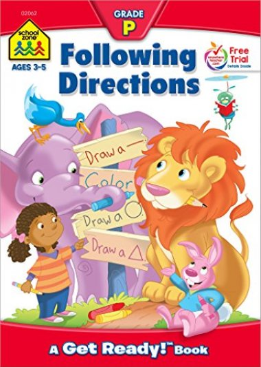 Following Directions Workbook