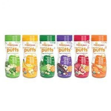 Variety Pack of organic Puffs