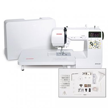 Janome JW8100 Fully Featured