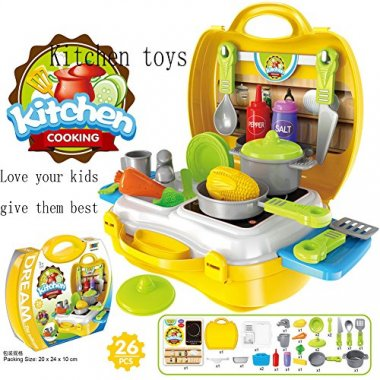 KITCHEN FOOD PLAY SET BY SUNRISE