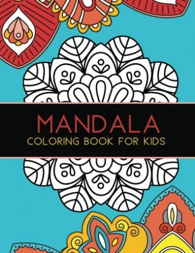 Mandala Coloring Book For Kids 1