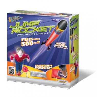 Original Geospace Jump Rocket – Launcher and 3 Rocket Set