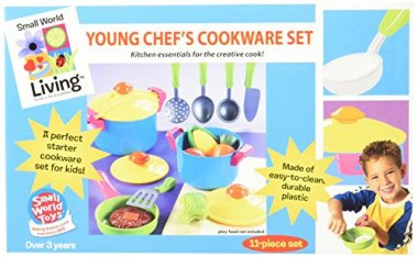 Young Chef Cookware Set by Small World Toys
