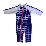 SwimZip Girl Long Sleeve Sunsuit
