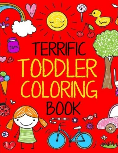 Terrific Toddler Coloring Book Volume 1
