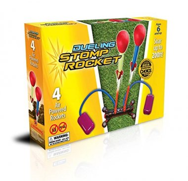 The Original Stomp Rocket Dueling, 4 Rockets