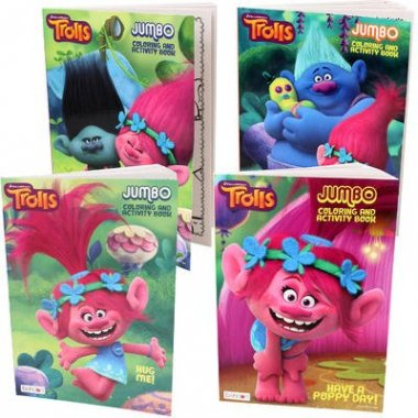 Trolls Coloring And Activity Book
