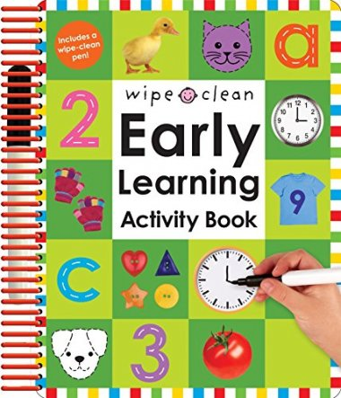 Wipe Clean Early Learning book