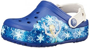 crocs Kids' CrocsLights Frozen Light-Up Clog