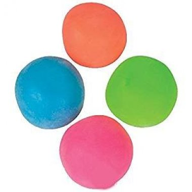 Pull and stretch stress relief balls