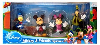 Mickey and Friends Toy Figure Playset