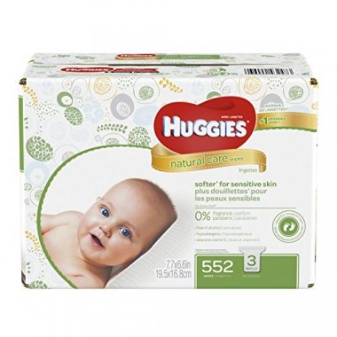 HUGGIES Natural Care Baby Wipes (552  Sheets Total)