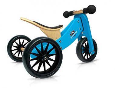 Kinderfeets TinyTot Wooden Bike and Tricycle
