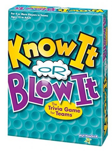 Know It or Blow It Trivia Game