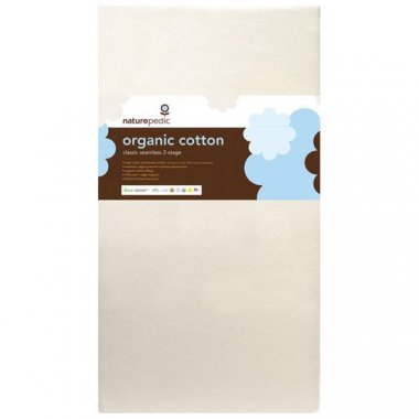 Naturepedic Organic Cotton 2-Stage Crib Mattress