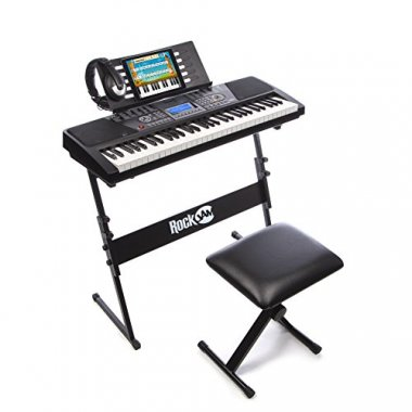 Keyboard with Stand and Screen