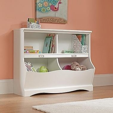 Sauder Pogo Bookcase Soft White