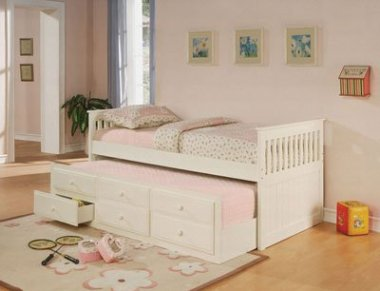 Coaster Fine Furniture Mission Style Trundle Bed