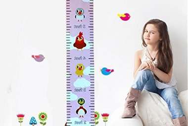 Colorful Height Chart – Growth Chart For Girls