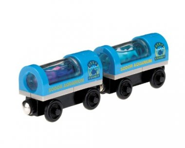 Thomas & Friends Wooden Railway, Aquarium Cars