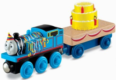 Wooden Railway – Happy Birthday Thomas Cake Train