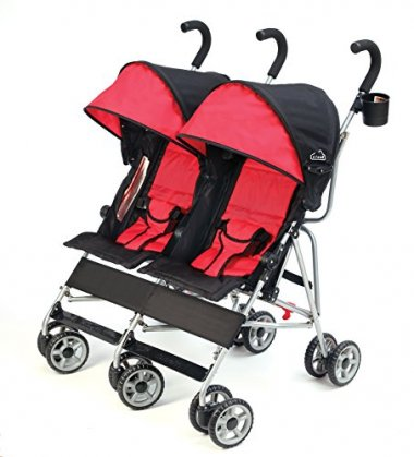 Side-by-Side Double Umbrella Stroller