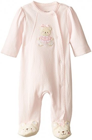 Little Me Newborn Sweet Bear Footie