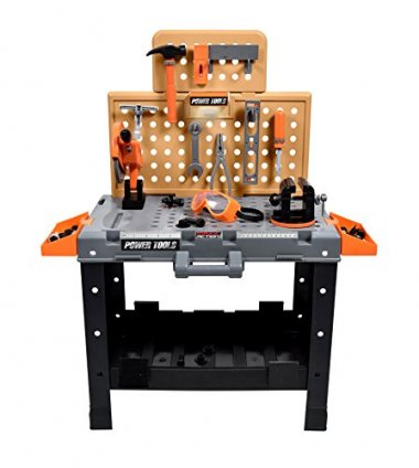 Maxx Action 55-piece Deluxe Power Tool Toy Workshop
