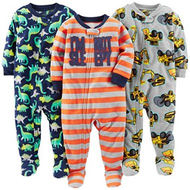 Simple Joys by Carter' 3-Pack Flame Resistant Pajamas