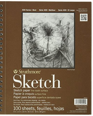 Strathmore Series 400 Sketch Pads – 100 (3-Pack)