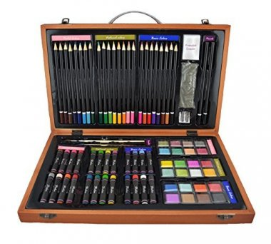 Strokes Art Supplies Deluxe Art Set