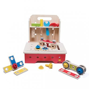 Toy Workbench and Toddler Tool Set