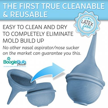 BoogieBulb Baby Nasal Aspirator and Nose Sucker