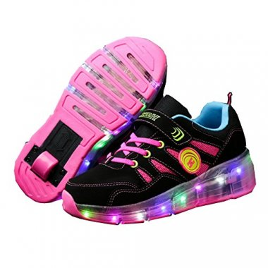 CPS Light Up Wheels Roller Shoes Skate Sneakers