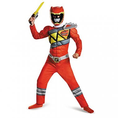 Red Ranger Dino Charge Classic Muscle Costume