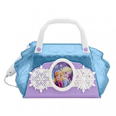 Disney Frozen Anna & Elsa Cool Tunes Sing Along Boombox With Microphone