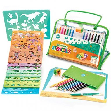 Drawing Stencils Art Set for Kids by Creativ' Craft
