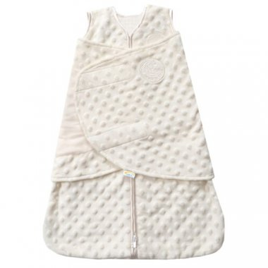 SleepSack Plush Dot Velboa Swaddle