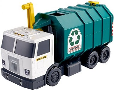 Matchbox Garbage Large-scale Recycling Truck