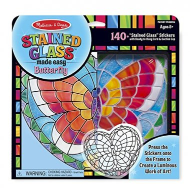 Stained Glass Made Easy Activity Kit: Butterfly