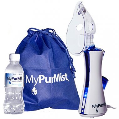 MyPurMist Handheld Steam Inhaler and Vaporizer