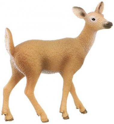 Schleich White-Tailed Doe Toy Figure