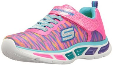 Skechers Girls' Litebeams-Colorburst Sneaker