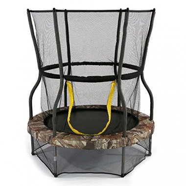 Bouncer Trampoline with Enclosure