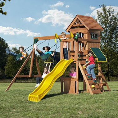 Swing-N-Slide Jamboree Fort