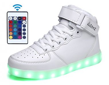 ditont LED Light Up Shoes Flashing Sneakers with Remote