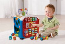 On this page you'll find the best activity cubes for kids.