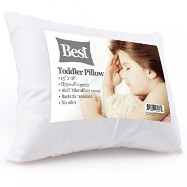 Best Toddler Pillow (INCREDIBY SOFT – 100% HYPOALLERGENIC)